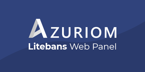 LiteBans Web Panel